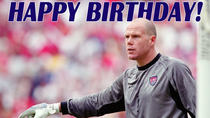Happy birthday to goalkeeping legend and analyst Brad Friedel!