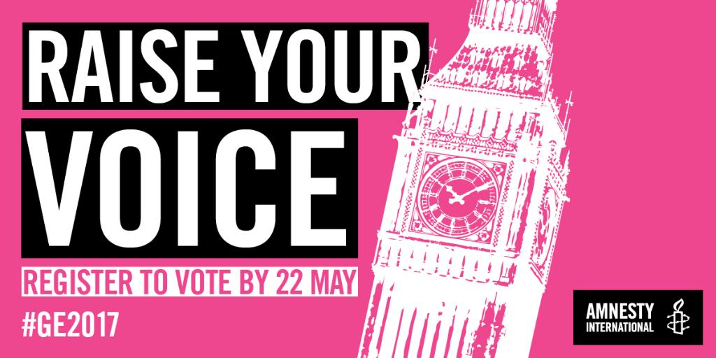 Your voice matters - use it. Register to vote in #GE2017. It takes 5mins: https://t.co/ReWkNbz1cL https://t.co/R5LcASw60m