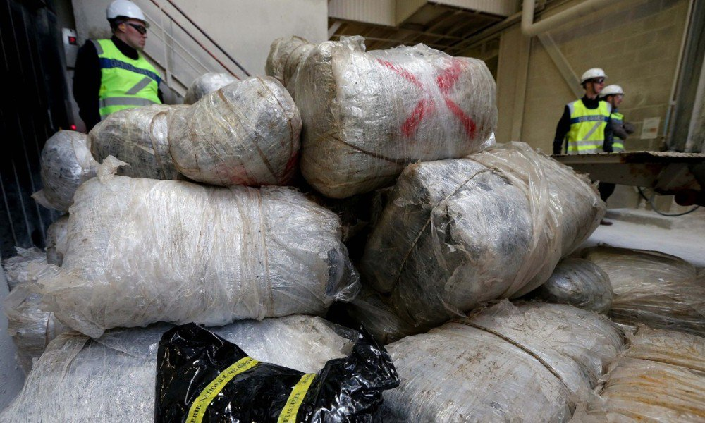 Portugal: saisie de dix tonnes de haschisch en Méditerranée