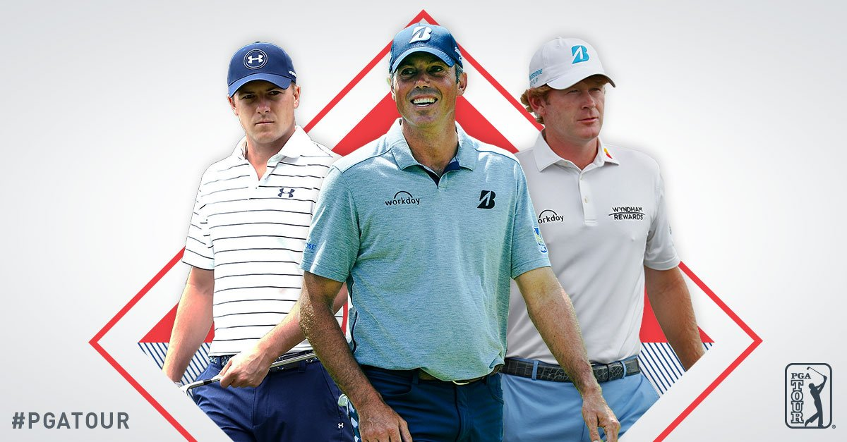 Spieth Kuchar Snedeker  Featured Groups coverage on @PGATOURLIVE is LIVE now. https://t.co/W7BrGNui1M https://t.co/0GBx8CEq5K