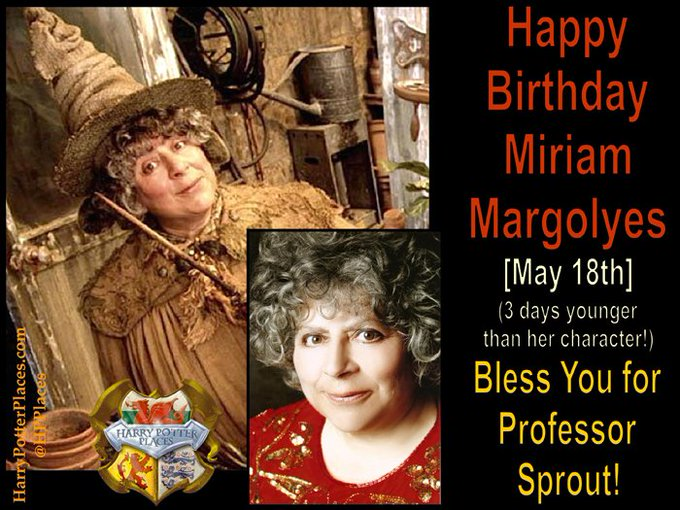 Happy Birthday to Miriam Margolyes