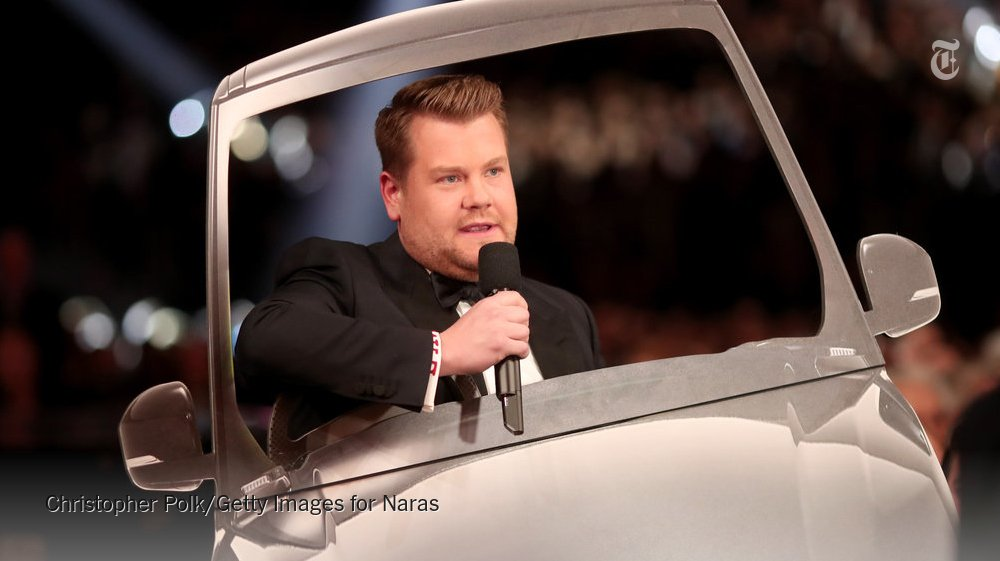 James Corden will host the Grammys again in 2018, the Recording Academy announced https://t.co/oH6gGKdsbF https://t.co/qWNcaohTDz