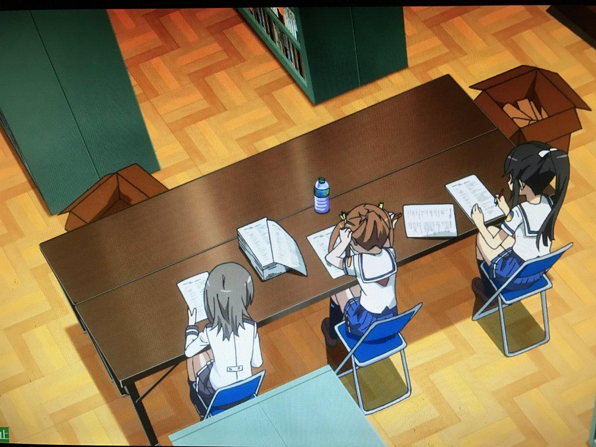 OVAに出てきた図書室、横須賀の何処かか架空の場所なのかなって思ってたけどコレたぶん大図書館の羊飼いの図書部部室がモデル