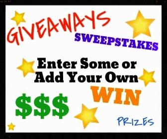 Giveaways!! ~ Freebies Deals & Steals