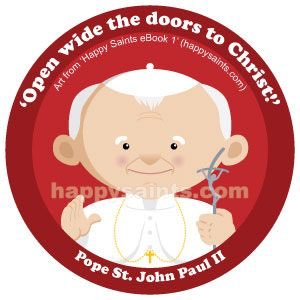 Happy birthday Pope Saint John Paul II!!!!!!