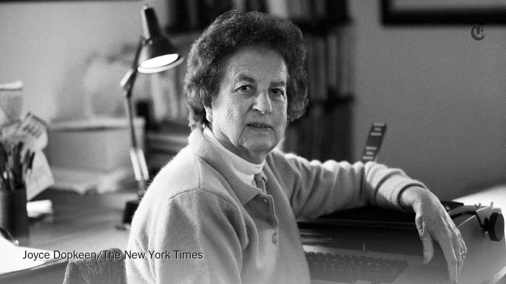 Jean Fritz, who wrote history books for children, dies at 101 https://t.co/q1AVOnbXOo https://t.co/us7PHVT4Fm
