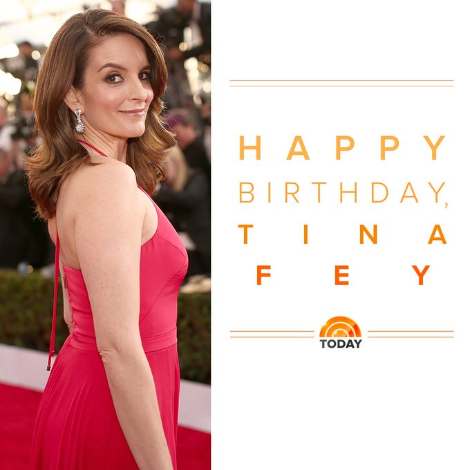 Happy birthday to one of our favorite ladies, Tina Fey!