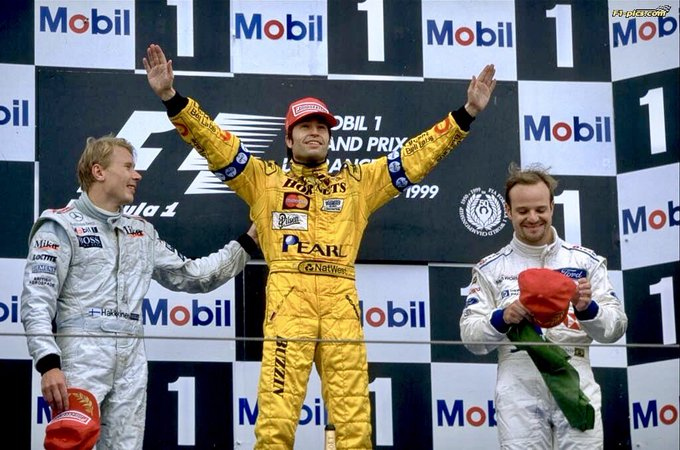 Happy 50th birthday Heinz-Harald Frentzen!