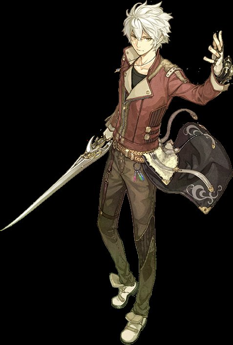 ロジー(エスカ&ロジーのアトリエ)作中の男主人公。戦闘モーションはまさかの剣投げたりライダーキックかましてたりしますが錬