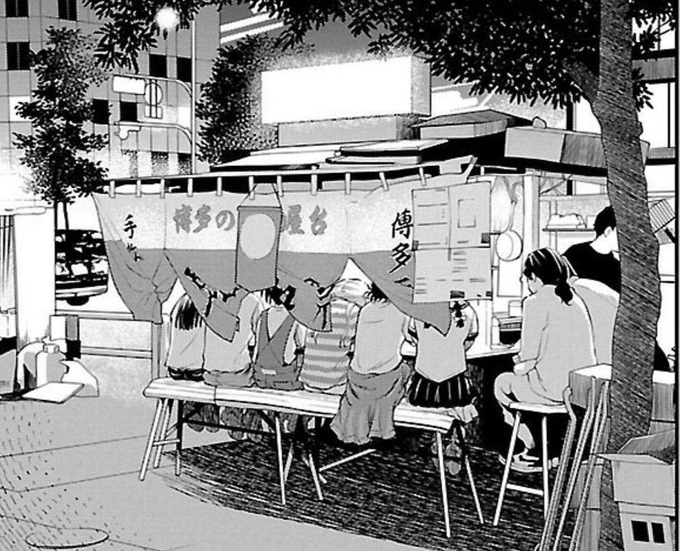 GWばくおん聖地巡礼九州ツーリング⑯博多ラーメン!#ばくおん