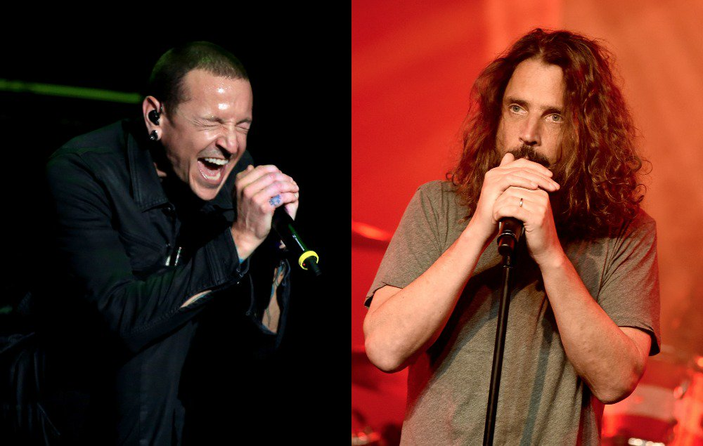 Read Linkin Park frontman Chester Bennington's emotional tribute to Chris Cornell https://t.co/Ao8T6ic7oR https://t.co/65srxOtZy7
