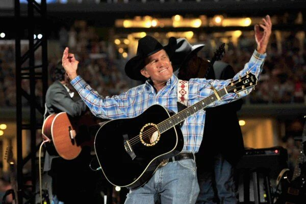 "Happy birthday ""The Man\"" The king of country music.. George Strait"