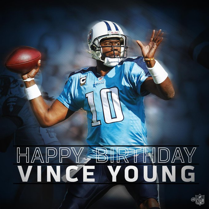 Join us in wishing Vince Young a Happy 34th Birthday!