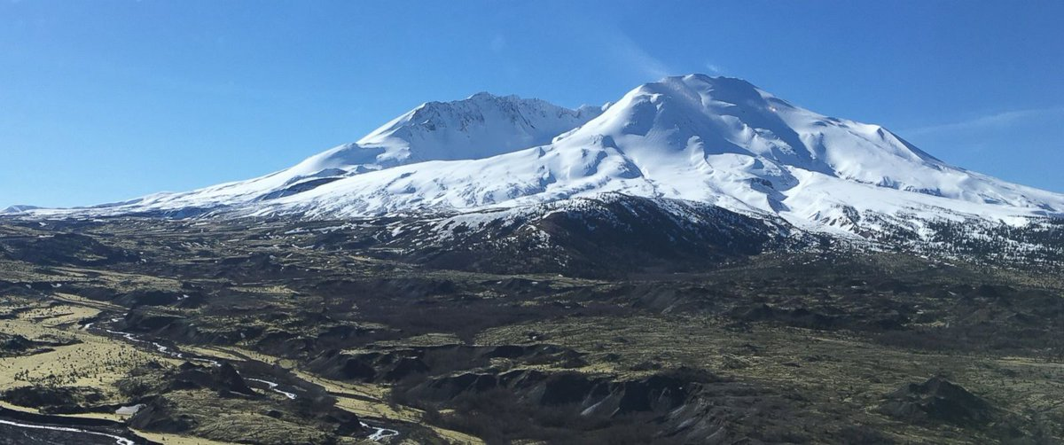 Decades after catastrophic 1980 eruption, Mount St. Helens is 'recharging.' https://t.co/A2W7Tcve5Q https://t.co/zHUrBiiQl1