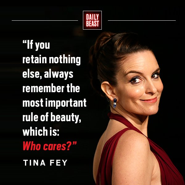 Happy birthday, Tina Fey