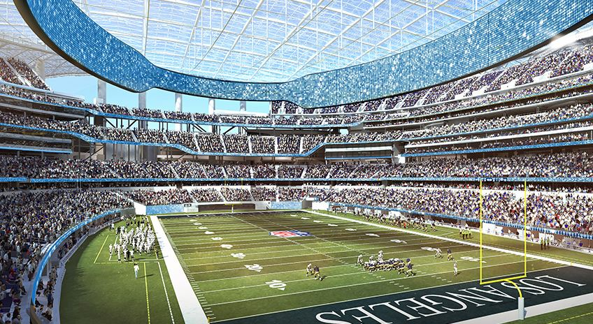 Opening of Inglewood stadium that would house LA Chargers, LA Rams has been delayed until
