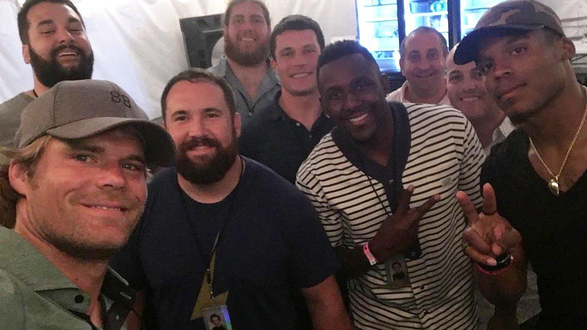 .@gregolsen88 led a team road trip to Raleigh for a @KingsOfLeon show  ▶️ https://t.co/dMKwjXCq2z https://t.co/bA0kz7fI7K