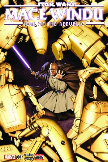.@Marvel delves into StarWars prequel era with 'Mace Windu' comic series