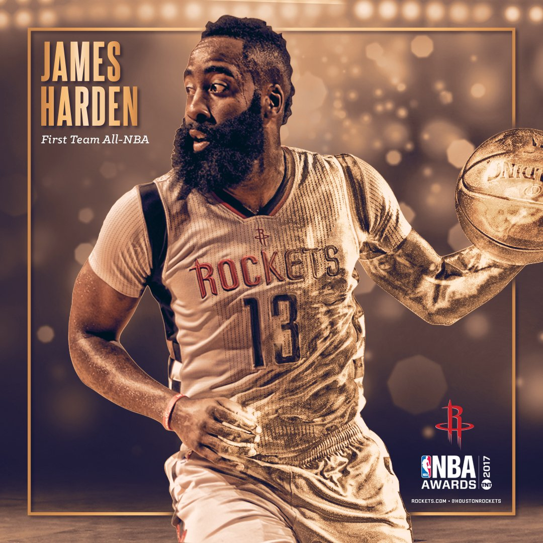 Congrats to @JHarden13 on his unanimous selection to the All-NBA 1st team! Full story here: https://t.co/2bcF8EFwSa https://t.co/Z3FpbgrlJr
