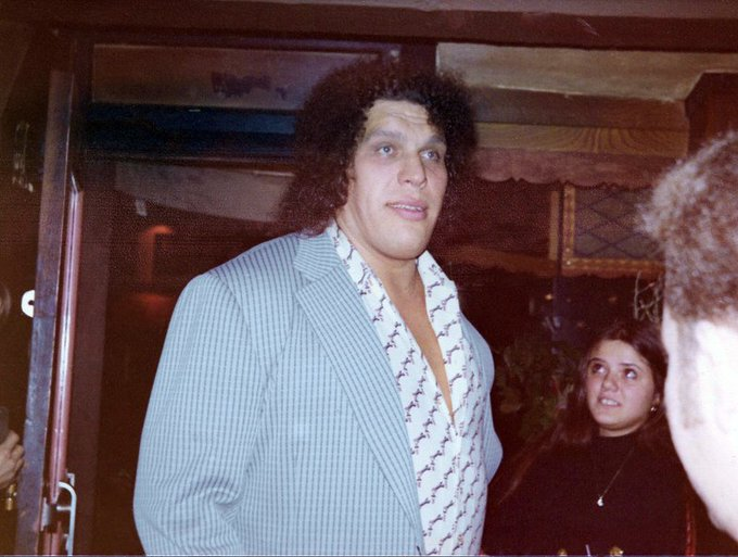 Andre the Giant would have been 71 today. Happy birthday to the big guy.