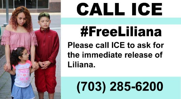 test Twitter Media - @SeKaineOffice Request that @ICEgov grants Liliana a stay of her deportation. Help keep her with her family. #KeepFamiliesUnited https://t.co/TlrDHrkCcD