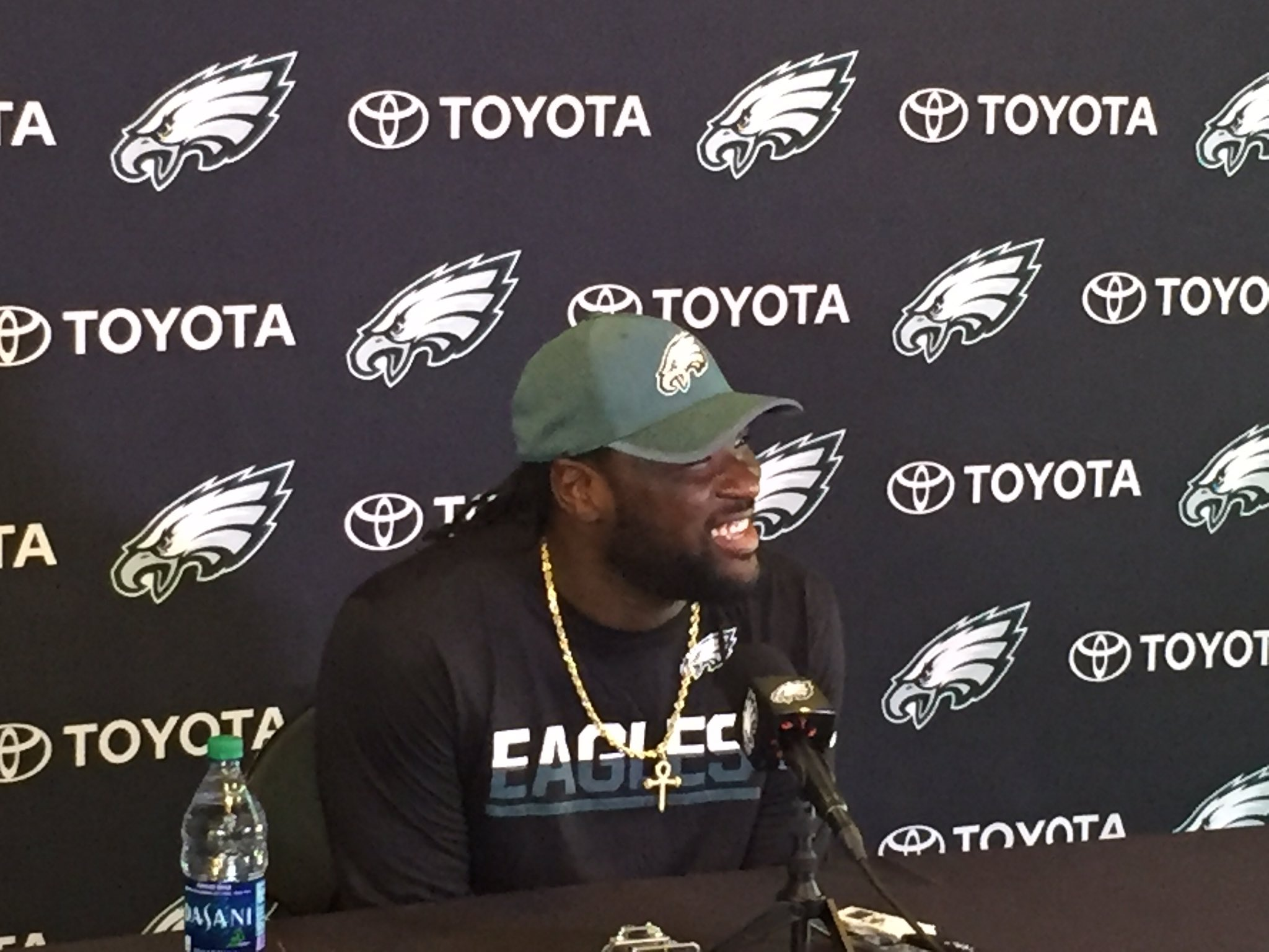 .@LG_Blount: 'I chose Philly because I thought it was the best fit for me.' #FlyEaglesFly https://t.co/GyCWsTdAyh