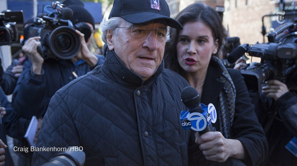 Robert De Niro gives one of his best screen performances in years as Bernie Madoff https://t.co/nkeSCpZTrg https://t.co/0ILaKXezGq