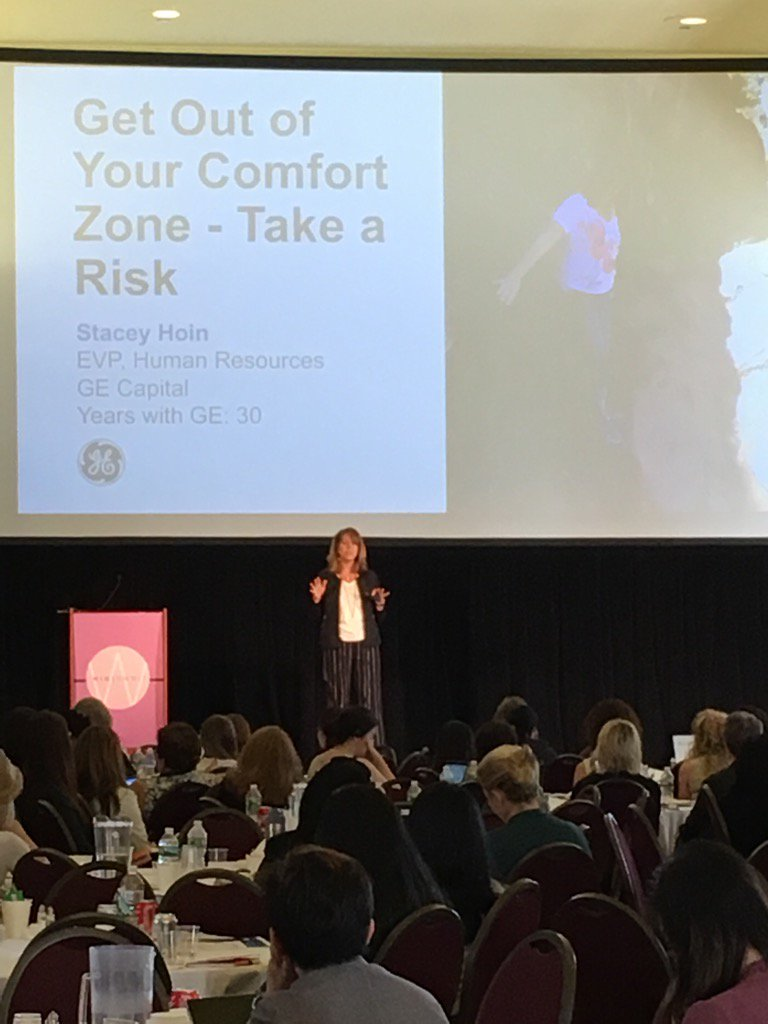 test Twitter Media - RT @iRelaunch: Watching @GECapital's Stacey Hoin on taking risk in your career @TheWINSummit #WINSummit17 https://t.co/4PaeytK6hX