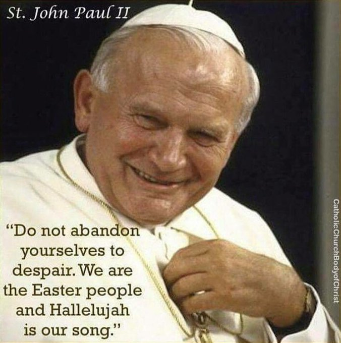 Amen..Happy Birthday to Pope Saint John Paul II! (May 18,1920-April 2,2005)  Pope Saint John Paul II,Pray For Us!!