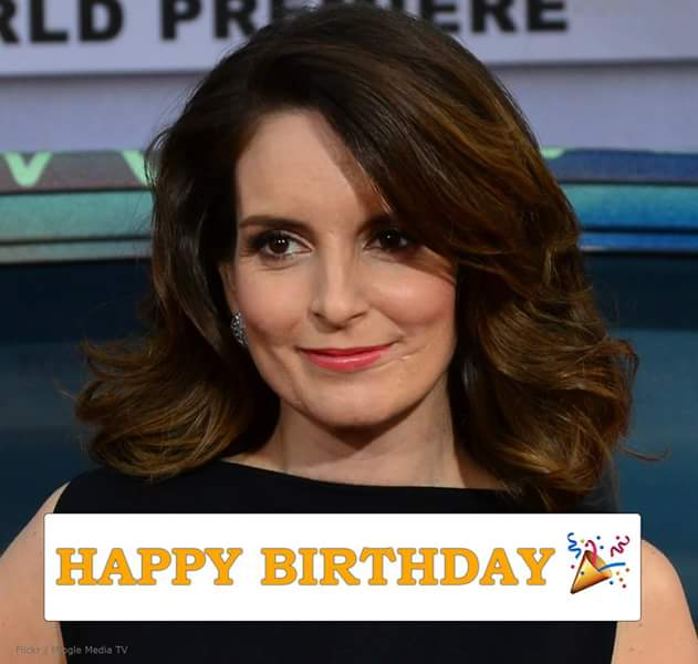 Happy 47th birthday to the hilarious Tina Fey. :)