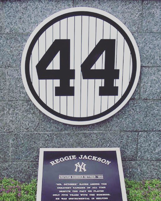 Happy birthday !  My fav player as a kid. Still have my Reggie Jackson mitt.