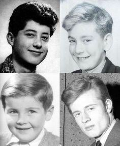 Led Zeppelin as boys: Jimmy Page, Robert Plant, John Bonham, John Paul Jones. https://t.co/8aYG2CLXNV