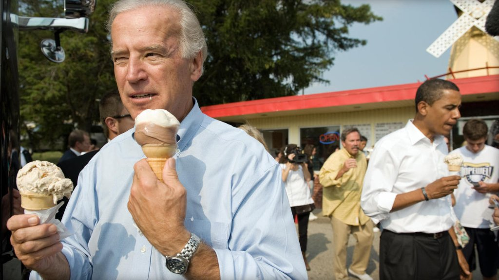 Former VP Joe Biden to have ice cream flavor named for him: