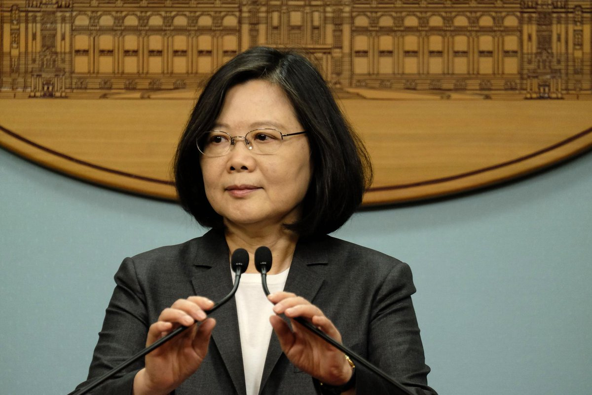 A year in office, Taiwan's Tsai Ing-wen faces surge in anti-China sentiment