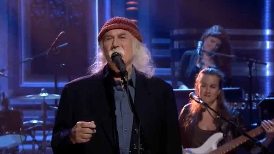 Watch David Crosby perform 'She's Got to Be Somewhere' on #FallonTonight https://t.co/WU3mp3SNmc https://t.co/v0CrIGSghH