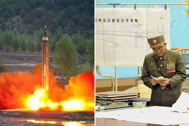 Map of death: north korea missile targets revealed in chilling
