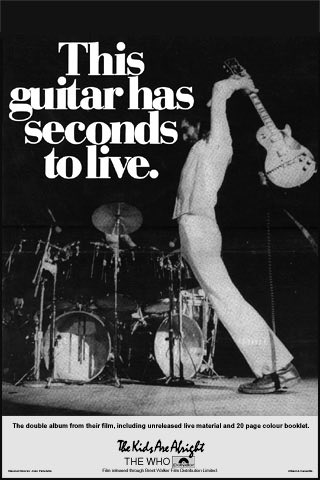 Coincidentally, it\s Pete Townshend\s birthday. Happy birthday Pete!