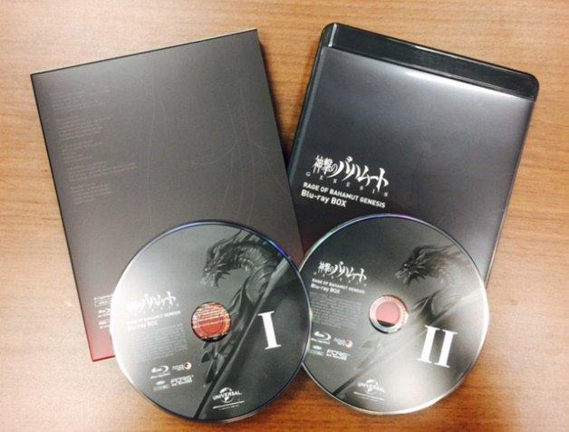 """「神撃のバハムート GENESIS」Blu-ray&DVD BOXが""""バハプライス""""の8800円(税抜)にて本日発売です"""