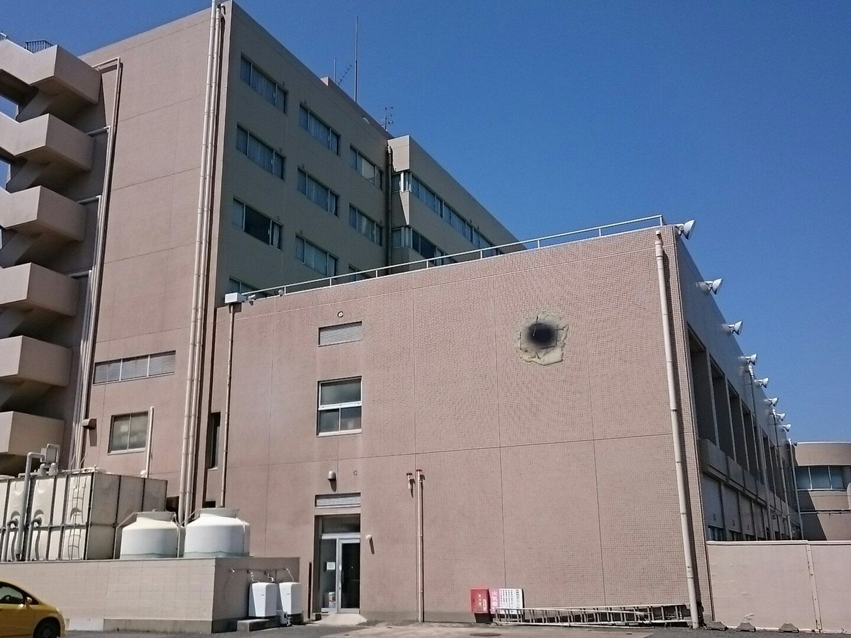 【速報】大洗シーサイドホテル、劇場版ガルパンでKV-2にやられた穴を再現