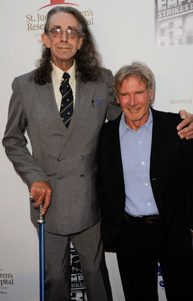 Let the Wookie win. Happy birthday to Peter Mayhew.