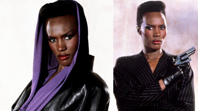 Happy birthday GRACE JONES (may 19th)