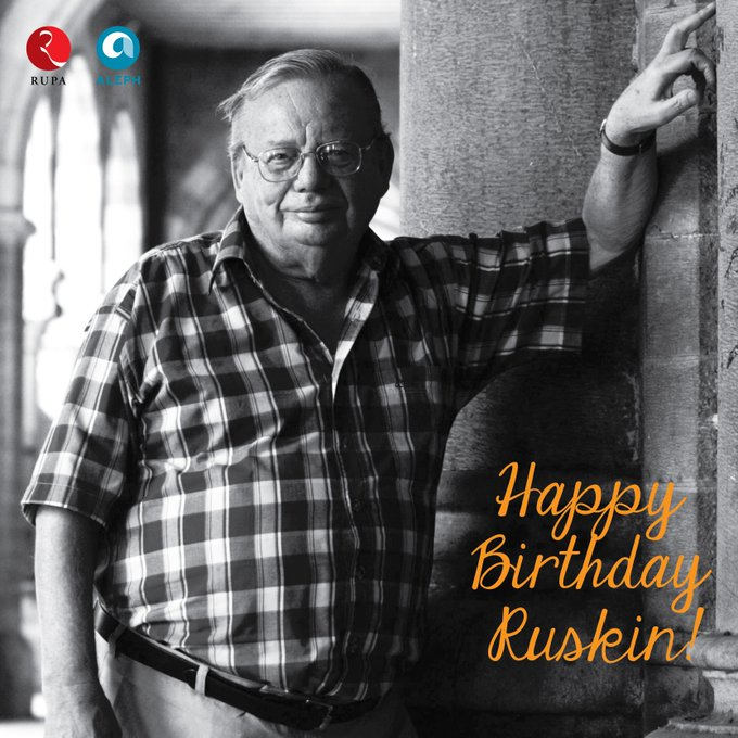 Happy Birthday to India\s favourite storyteller and our beloved author, Ruskin Bond!