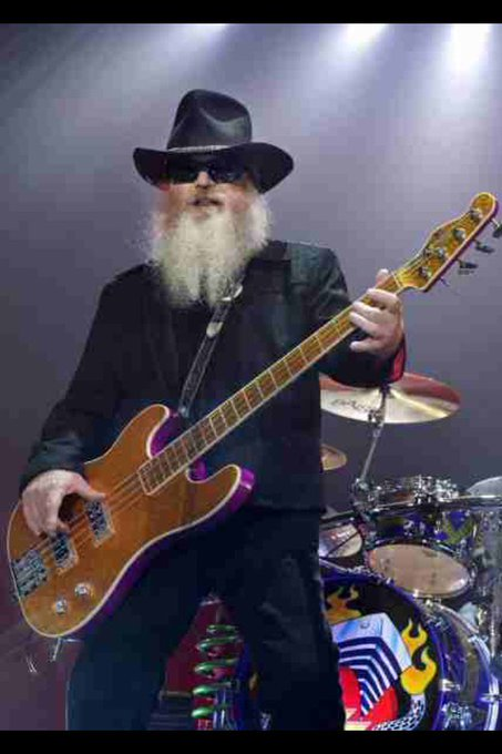 Happy Birthday Dusty Hill. ZZ Top