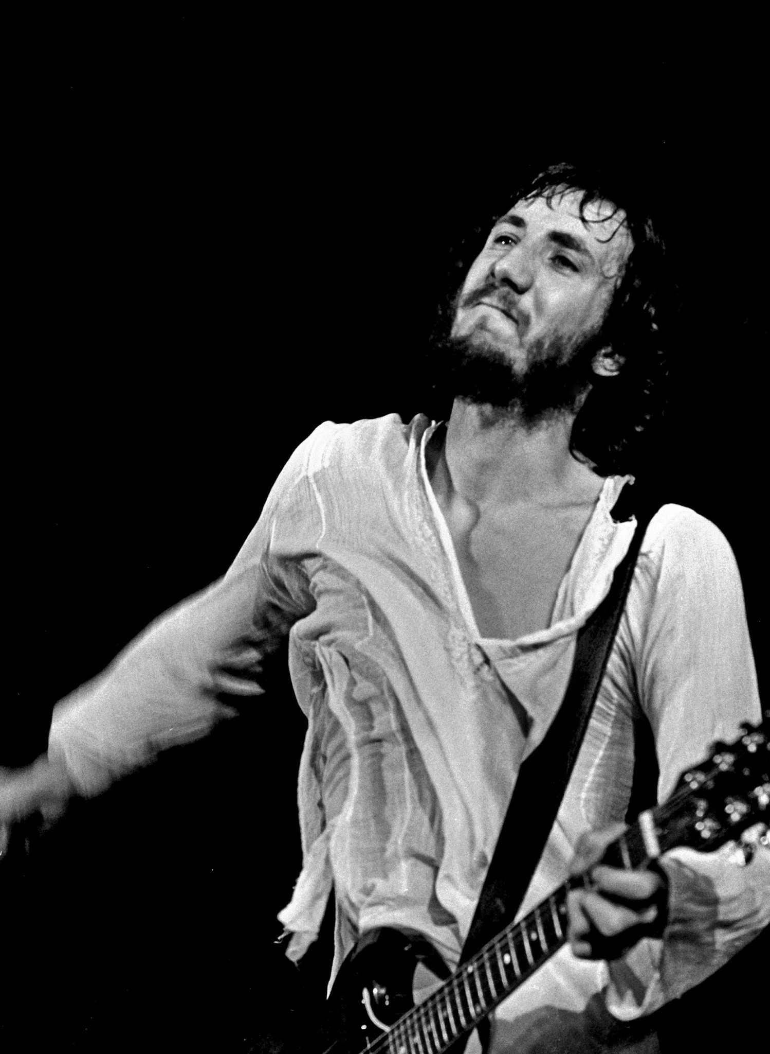 Happy 72nd Birthday to PETE TOWNSHEND (THE WHO), one of the greatest guitarists and songwriters ever in rock.