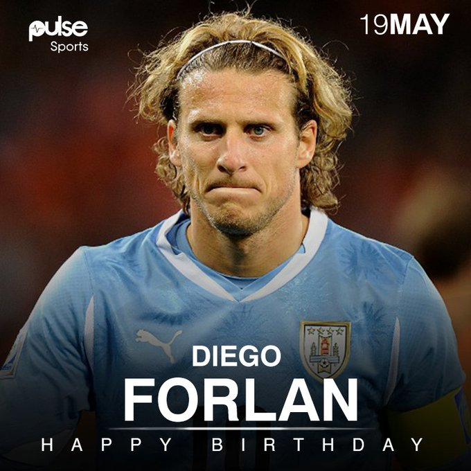 Happy 38th birthday to the best player of the World Cup in South Africa 2010, Diego Forlan