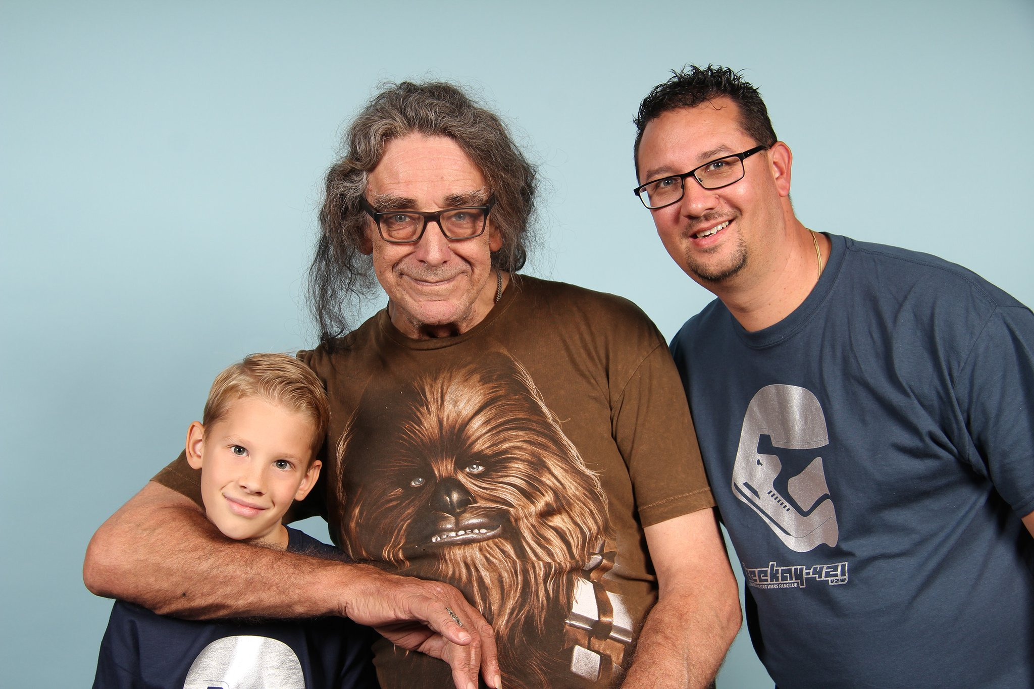 Happy Birthday Peter Mayhew, I honored to meet you!
