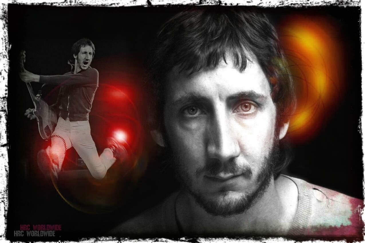 HAPPY BIRTHDAY PETE TOWNSHEND  OF THE WHO !!