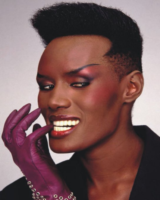 Grace jones basically made my gender for me, happy birthday!