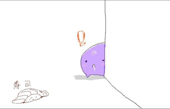 たろプンと合作らくがきしたズヴィズダー。1キャラずつ交互に描き足していった。