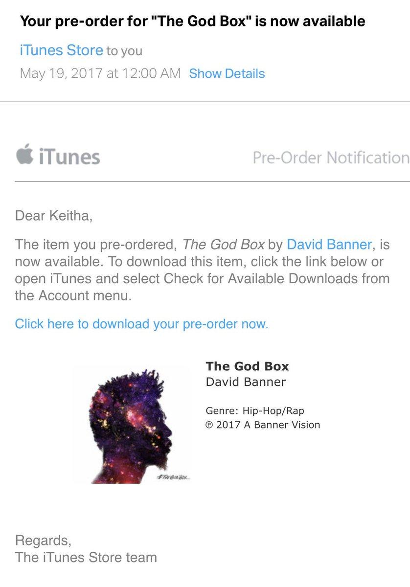 #TheGodBox